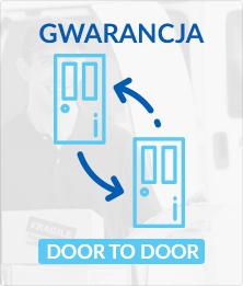 Gwarancja DOOR TO DOOR